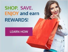 Shop. Save. Enjoy and earn rewards!